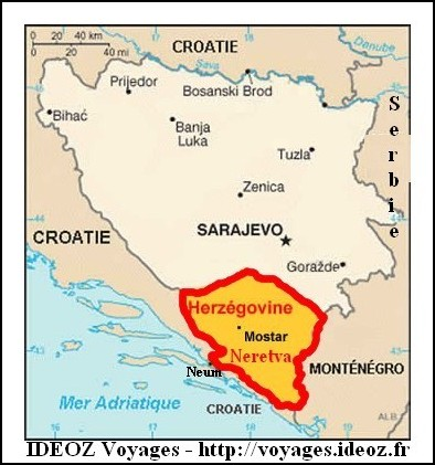 Passage de la frontière Croatie Bosnie ?