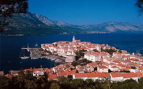 korcula ile croatie