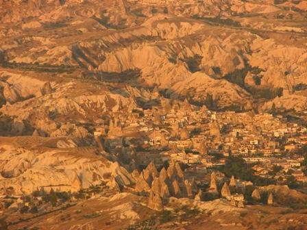 Cappadoce en mongolfiere