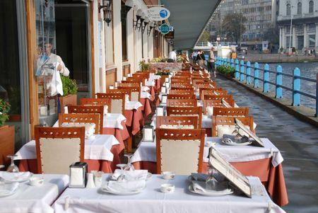 Istanbul restaurant Pont Galata