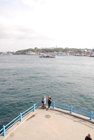 Istanbul vue Bosphore