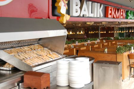Pont Galata Restaurant balik Ekmek