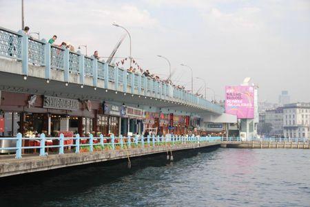 Pont Galata restaurants