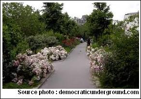 Promenade plantée à Paris