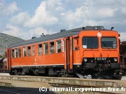Train croatie