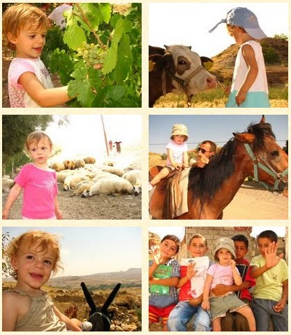 cappadoce avec les enfants