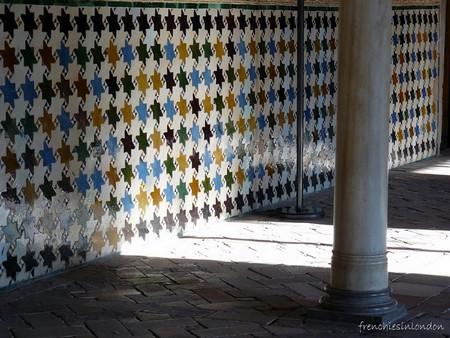 Alhambra Palais Nasrides mur