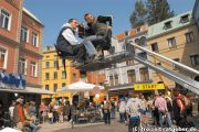 Tournage de la série Marienhof au Bavaria Filmstadt