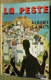 La peste Albert Camus livre de poche