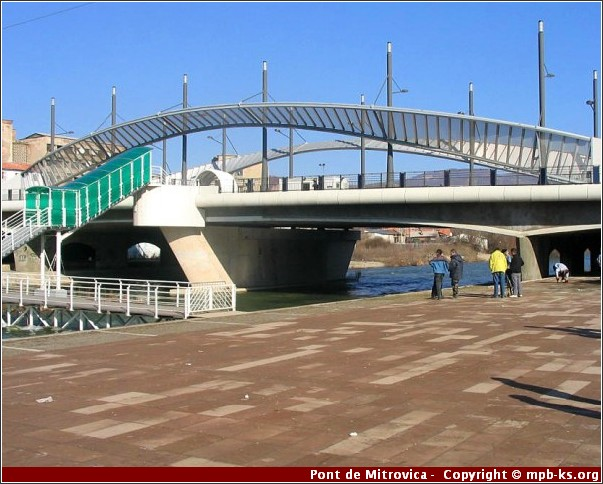 Pont Mitrovica Kosovo