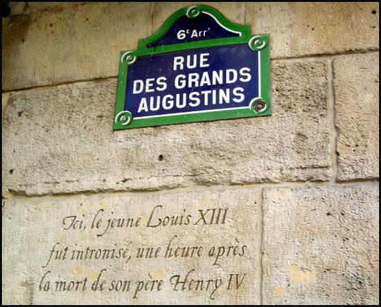 Rue des Augustins Paris