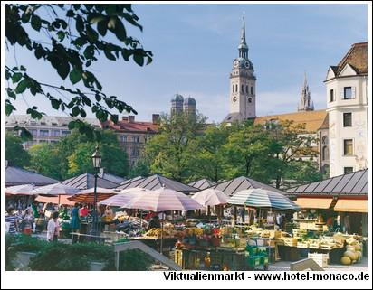 Viktualienmarkt Munich Muenchen