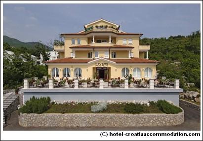 Villa Kapetanovic Hotel Opatija Croatie