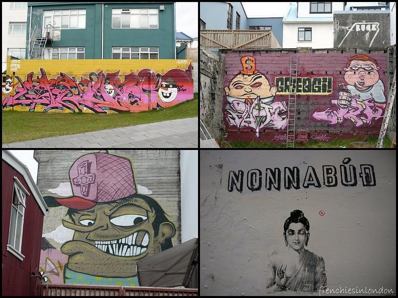 street art Reykjavik London police