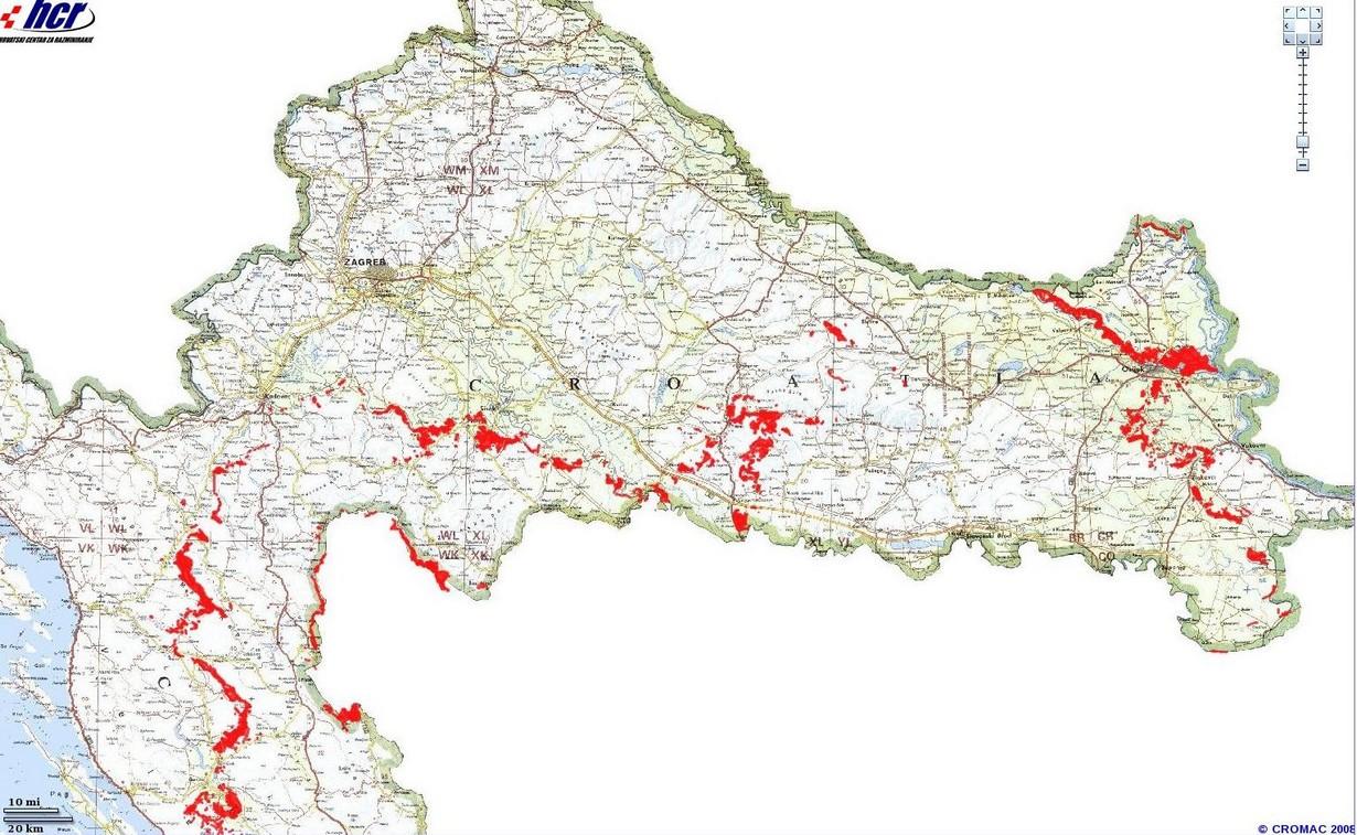 Mines antipersonnel en Croatie : quels risques en randonnée? 1