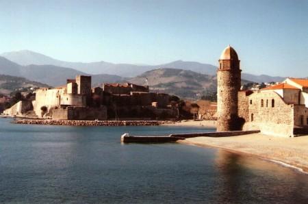 Vue du château et des fortifications