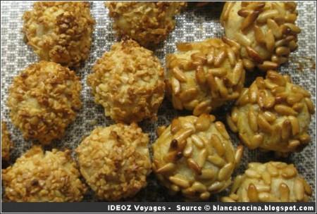 Panellets ; biscuits gourmands de Catalogne
