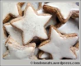 Zimtsterne biscuits de noel