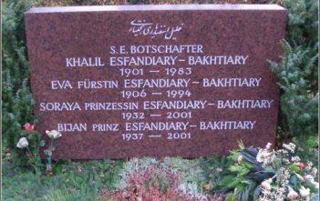 tombe soraya bakhtiari Munich