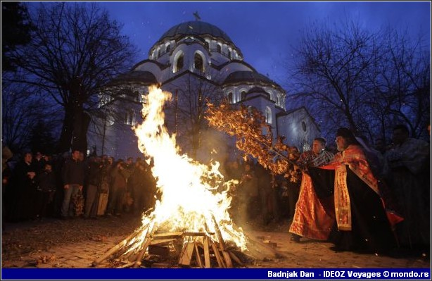 noel orthodoxe serbe