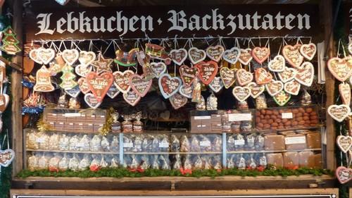 Marche de Noel pain d'épices Lebkuchen