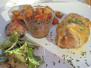 Eden Roch Restaurant Les Angles