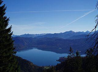 Walchensee lac baviere