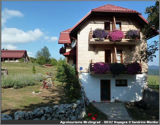 mrzlin grad Agrotourisme Plitvice Korenica chez Branko et Sonija