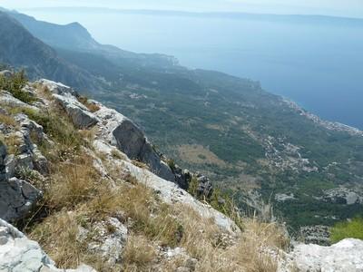 Biokovo panorama adriatique