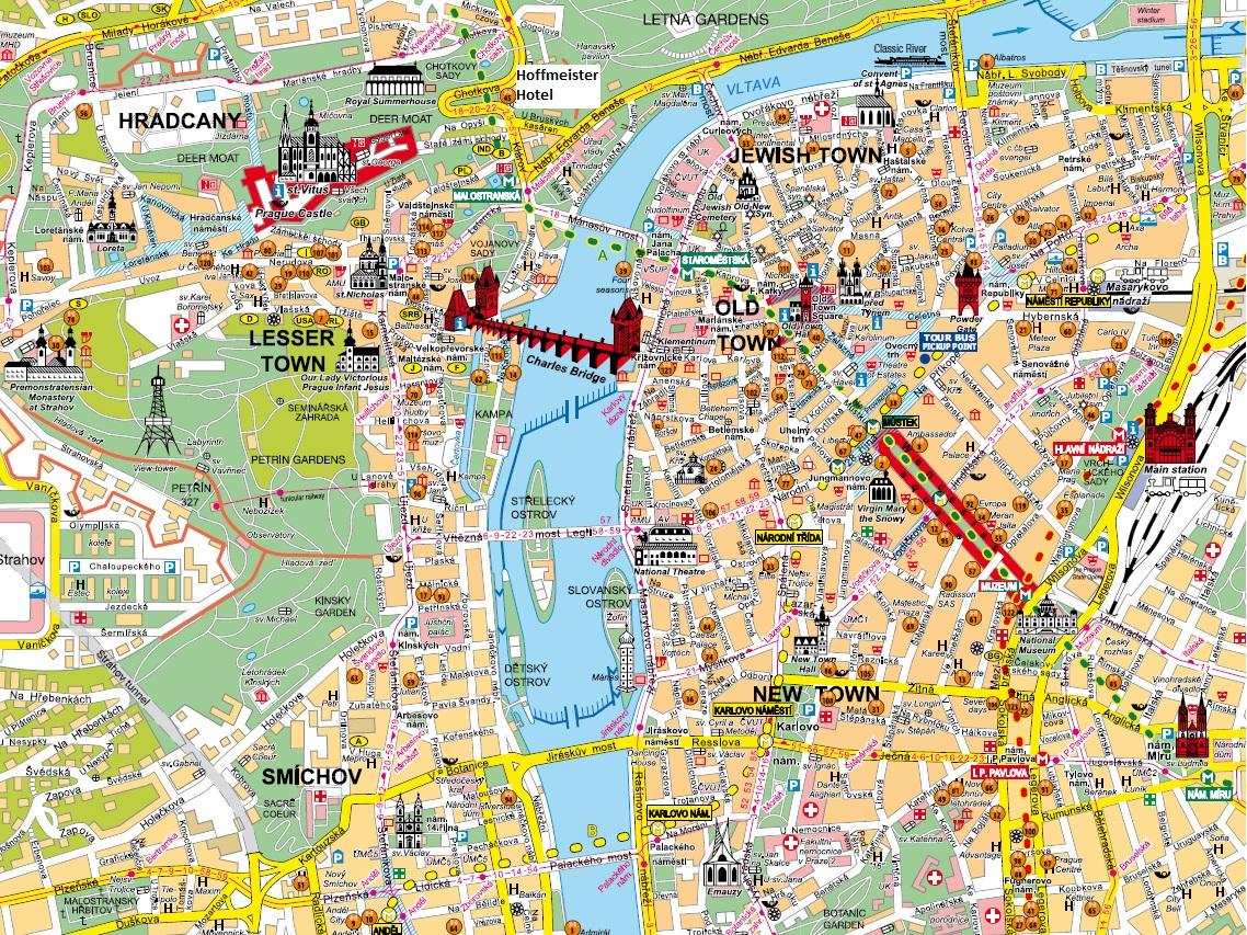 Guide voyage prague pr parer son voyage prague for Carte touristique