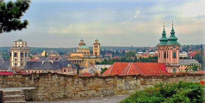 Eger en Hongrie