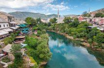Mostar en bosnie herzegovine