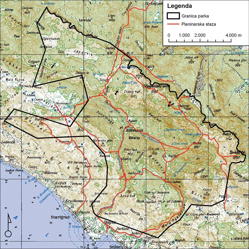Parc national Paklenica ; randonnée en montagne et panorama d'exception! 14
