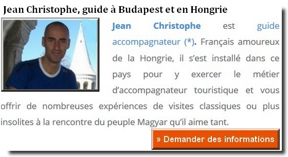 jean christophe guide francophone à budapest
