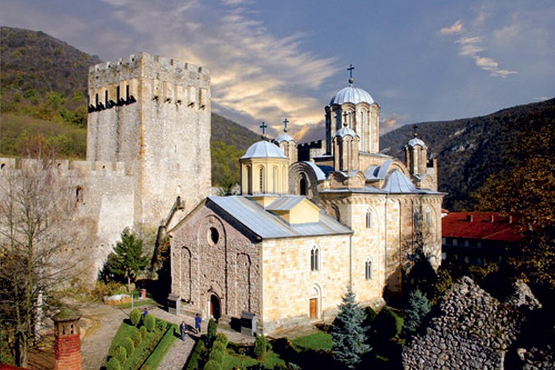 monastère manasija serbie
