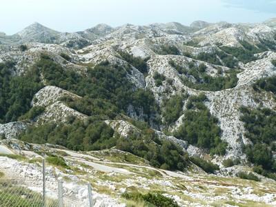 montagne biokovo parc naturel croatie