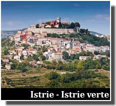 tourisme en istrie et en istrie verte en croatie du nord