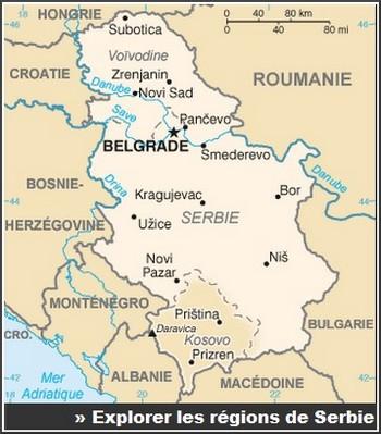 regions de serbie