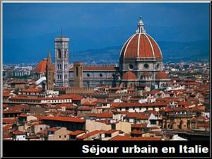 séjour urbain en italie