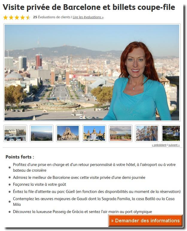 visite guidée barcelone