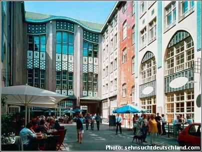 Hackesche Hoefe shopping berlin