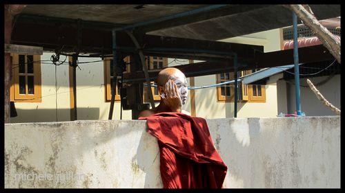 Birmanie moine
