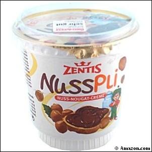Nusspli zentis nutella allemand