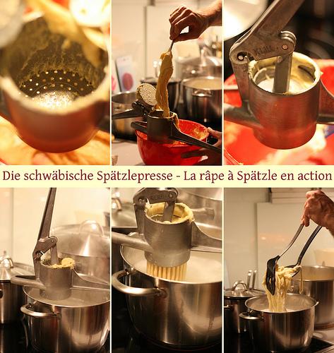 Spatzle souabe cuisine allemande