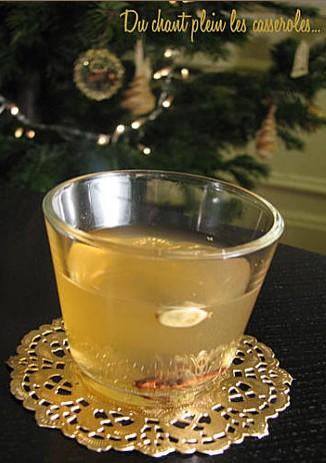weisser gluhwein vin chaud blanc