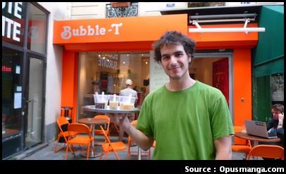 Bubble T Paris bubble tea bar