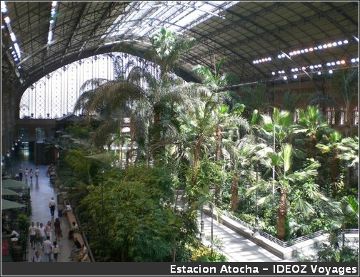 Gare Atocha Madrid