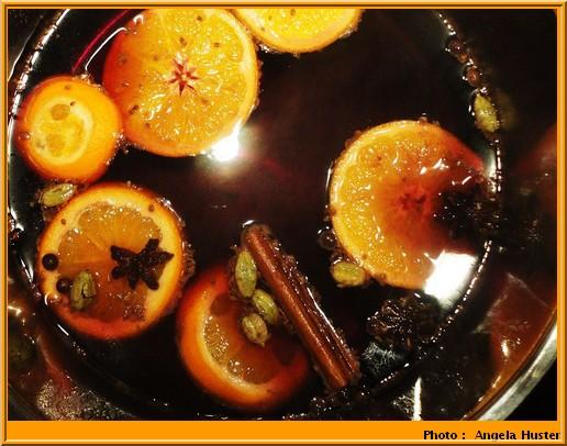 Glühwein vin chaud allemand