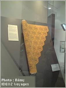 Musee Juif Berlin rouleau etoiles juives
