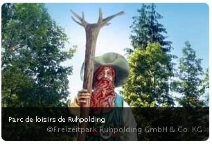 Ruhpolding parc de loisirs en Allemagne (Bavière)